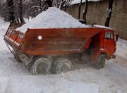 Аренда самосвала для вывоза снега